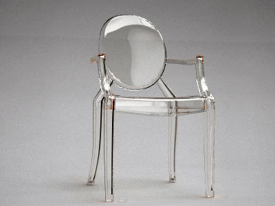 Kartell Louis Ghost Dining Chair