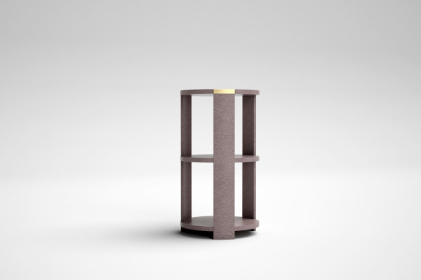 TRIBECA THREE TIER SIDE TABLE