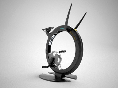Ciclotte exercise bike Roberto Cavalli variant
