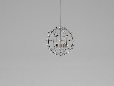 Villaverde Foliage metal chandelier 10665