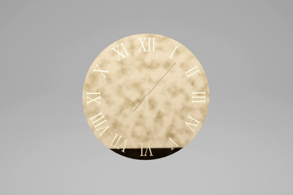 REFLEX CLOCK BY RICARDO LUCATELLO