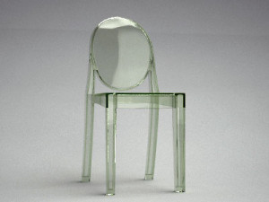 Kartell Victoria Ghost Side Chair