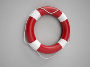 Nautical Life ring Buoys preserver 25''