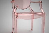 Kartell Lou Lou Ghost Dining Chair 2