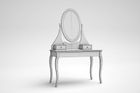 HEMNES DRESSING TABLE WITH MIRROR 3