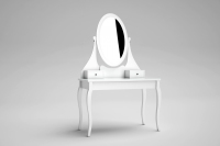 HEMNES DRESSING TABLE WITH MIRROR 1